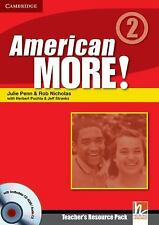 American More! Level 2 Teacher's Resource Pack with Testbuilder CD-ROM/Audio CD,