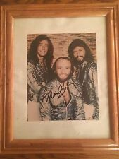 BEE GEES Maurice Robin Barry Gibb - hand signed photo  photograph autographed