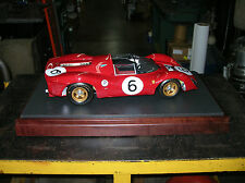 FERRARI 330 P4 1/8 SCALE  REAL ART REPLICA  FERRARI 330 P4 GMP 1/8 SCALE