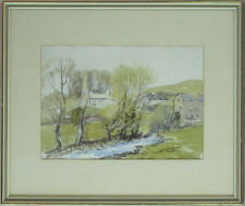 William Edwin Atkinson ARCA OSA (1862-1926)Canadian Listed Antique Watercolor