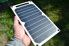 Ultralight sunpower solar cell 5w USB panel suitable for Galaxy, iPhone, iPad