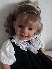 Süßes Panre Mädchen von Frederike Hertz, mit Etikett (Deiters), ca. 25 Jahre alt