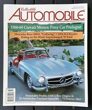 Collectible Automobile Magazine 1997 - Near Complete Year - 5 Complete Issues