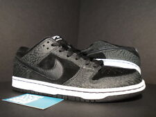 Nike Dunk Low Premium SB ENTOURAGE LIGHTS OUT PROMO SAMPLE BLACK WHITE CEMENT 9