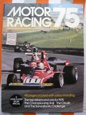 MOTOR RACING '75 Magazine Formula One Season Preview 1975