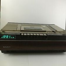 Vintage Sony Betamax VCR SL 5400 Powers On Seems to Work but Untested Rare
