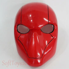 Batman Red Helmet The Dark Knight Cosplay Halloween PVC Full Face Mask Props