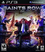 NEW Saints Row IV 4 (Sony Playstation 3, 2013) NTSC