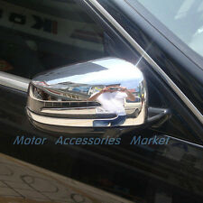 New Chrome Rearview Mirror Cover For Mercedes-Benz A B E GLK CLA GLA Class