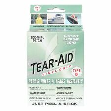 Tear Aid Type B Vinyl Patch Kit Repair Tent RV Bounce House Sporting Goods Tears