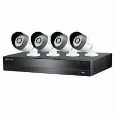 Samsung Techwin 4 Channel HD Security System, 1TB HDD, 4 Weatherproof Cameras