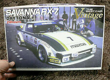 MAZDA SAVANNA RX7 DAYTONA 1/24 MODEL KIT AOSHIMA JAPAN