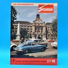 Der Deutsche Straßenverkehr 11/1965 DDR MZ Trabant Schwerin Six Days Formel 3 D