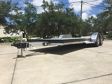 2016 CANAGE 20' ALUMINUM OPEN CAR HAULER TRAILER