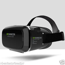 Shinecon VR Virtual Reality 3D Glasses Google Cardboard Headset Oculus Rift Head