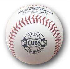 2017 CHICAGO CUBS OPENING DAY RAWLINGS MLB BASEBALL 2016 WORLD SERIES CHAMPIONS