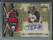 Jameis Winston 2015 Finest Superfractor Autograph Game Jersey Patch Rookie #1/1