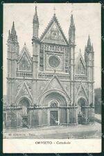 Terni Orvieto Cattedrale Alterocca 65 cartolina XB5571