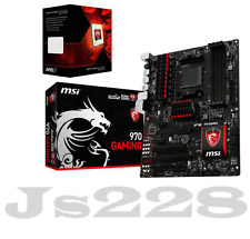 MSI 970 GAMING Motherboard  +AMD FX-8320 Eight-Core Processor 3.5GHz Combo set
