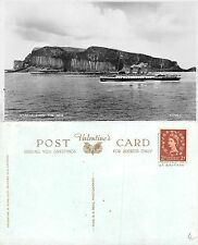 Scotland - Staffa from the sea WITH SHIP (A-L 458)