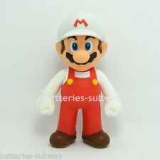 "Nintendo White New Super Mario Bros Brothers Mario Toy  Action Figure 5"" 12cm"