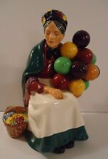 Royal Doulton Porcelain Figurine ~ Lady ~ The Old Balloon Seller  #HN1315 Green