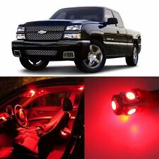 Red 16 pcs LED Lights Interior Package Kit for 1999-2006 Chevy Silverado