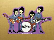 The Beatles Cartoons - Tin Metal Wall Sign