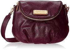 NWT Marc by Marc Jacobs New Q Mini Natasha Crossbody Dark Wine Bag