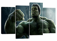 "hulk/set of 4 canvas prints/  32""x 20"""