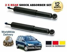 FOR TOYOTA PICNIC 2.0 2.2D 1996-2001 2X REAR LEFT + RIGHT SHOCK ABSORBER SHOCKER