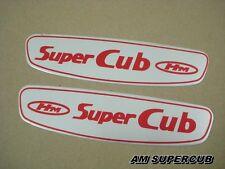 Honda SUPERCUB C100 C102 C50 C65 C70 Gas Tank Sticker Emblem Decal aluminium JP