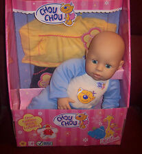 "HTF New 16"" Zapf Creation Chou Chou Baby Doll And Fashion Pack Extra Outfit NIB"