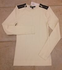 Lauren Ralph Lauren Cotton Top White  Size S NEW RRP £75