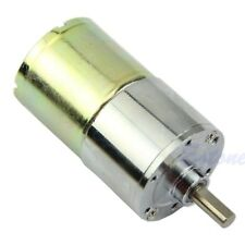 12V DC 5RPM Replacement High Power Torque Gear Box Speed Control Electric Motor