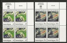 United Nations/Vienna SC # 91-92 World Weather Wacht Type . MNH