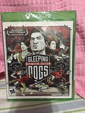 New Sealed Sleeping Dogs Definitive Edition (Microsoft Xbox One, 2014)