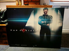 SUPERMAN: MAN OF STEEL 102 x 77CM MOVIE FILM PREMIER BILLBOARD CARD POSTER!