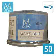 M-DISC 25GB Blu-ray Permanent Data Archival / Backup Blank MDisc Media - 50 Pack