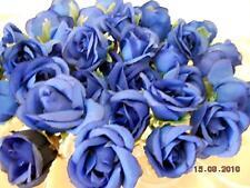 30x Roses Bourgeon Fleurs en Soie Art Floral Plantes Artificielles Déco Matériel