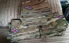 Original MTP British Army Blanking Patches Tabs Uniform UBACS Shirts Smocks