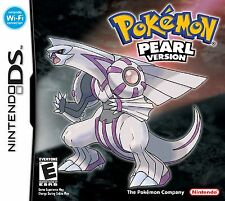 Pokemon Pearl Version DS - small tears