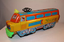 1970's Hind Toys Industries, HTI Toy Company Large Tin Floor Train Made in India