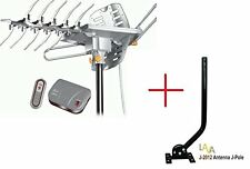 LAVA HD-2605 HDTV DIGITAL Outdoor TV ANTENNA HD UHF VHF FM with J-Pole Mount
