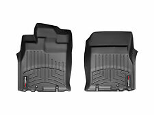 WeatherTech® FloorLiner - Toyota FJ Cruiser - 2007-2010 - 1st Row - Black