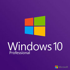 Windows 10 Pro Profesional Genuino producto de PC de 32/64 bits Clave Licencia De Por Vida
