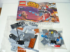 NEW LEGO Star Wars™ Geonosis troopers Walker ONLY rapid shooter mech AT-ST 75089
