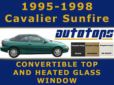 Sunfire Cavalier Convertible Top with heated glass Window