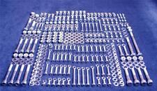 SUZUKI LT500R QUADZILLA 552 PIECE POLISHED STAINLESS STEEL BOLT KIT ATV LT 500 R