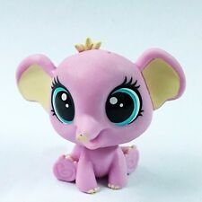 Littlest Pet Shop LPS PINK Elephant Pets In The City figure toy gift HA25